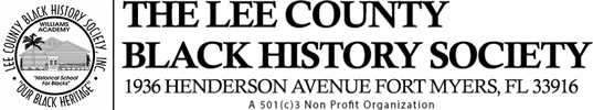 The Lee County Black History Society Logo